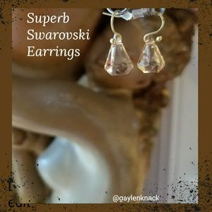 💥Gold Swarovski Earrings💥